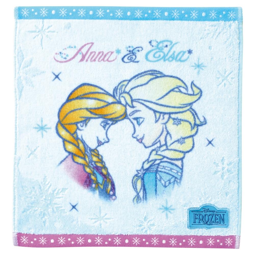 アナと雪の女王 ウォッシュタオル クリアスノー