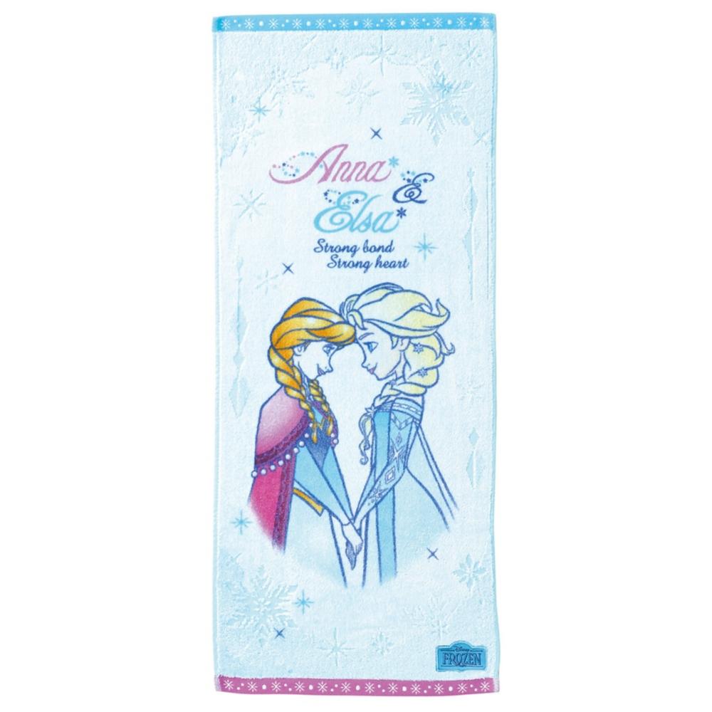 アナと雪の女王 アナ エルサ フェイスタオル クリアスノー