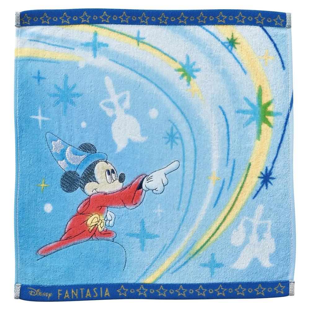ミッキーマウス ファンタジア ウォッシュタオル ウォーター/ファンタジア