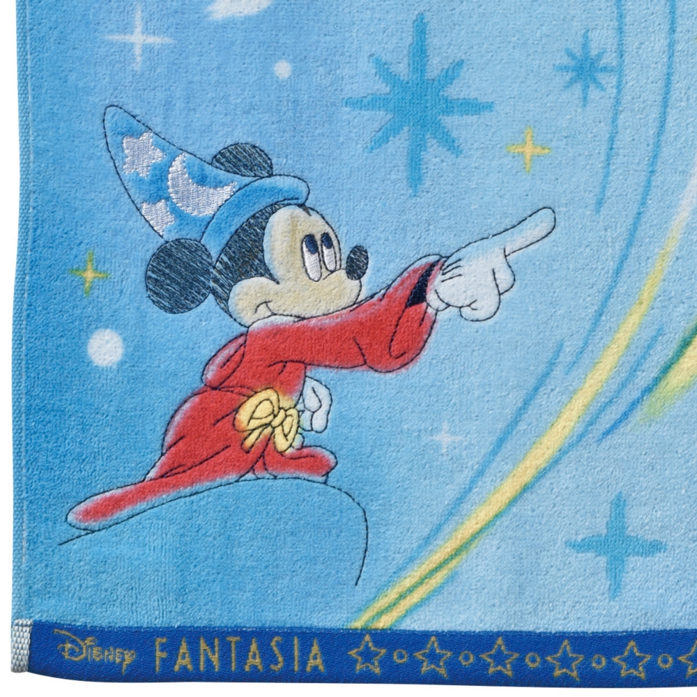 ミッキーマウス ファンタジア フェイスタオル ウォーター/ファンタジア