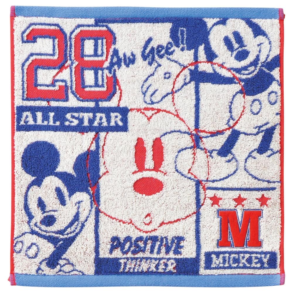 ミッキーマウス ウォッシュタオル アメリカン/ミッキー