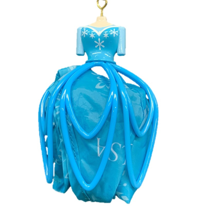 エルサ エコバッグ ドレス ライトブルー アナと雪の女王