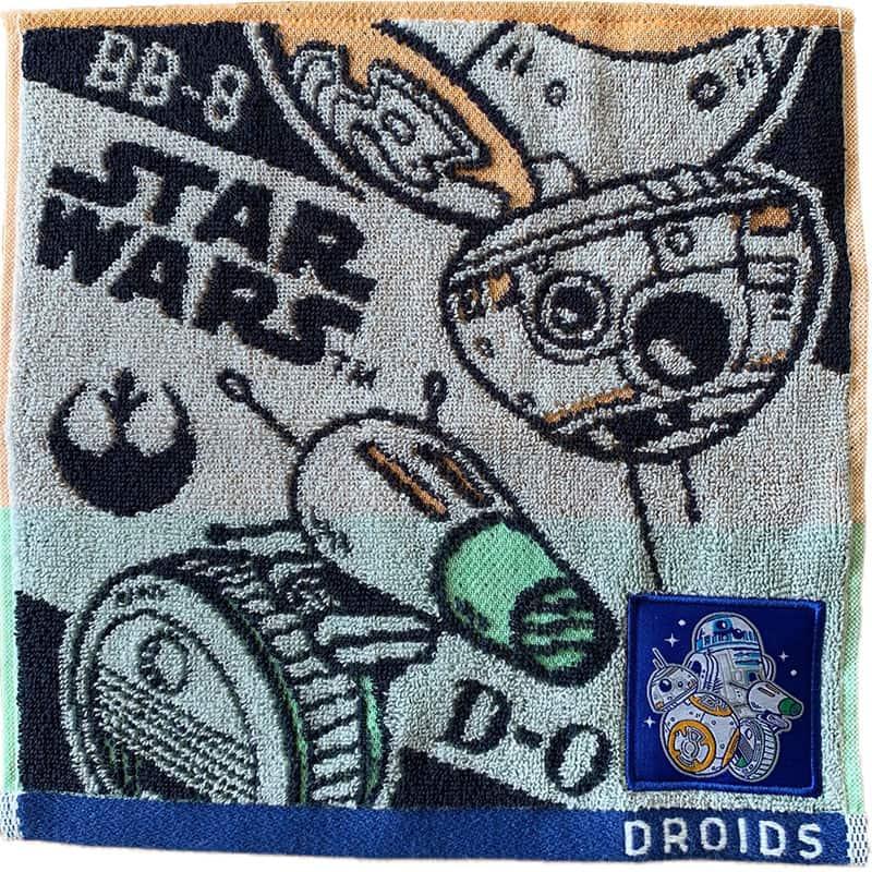 スター・ウォーズ BB-8&D-O ミニタオル ドロイドスタイル