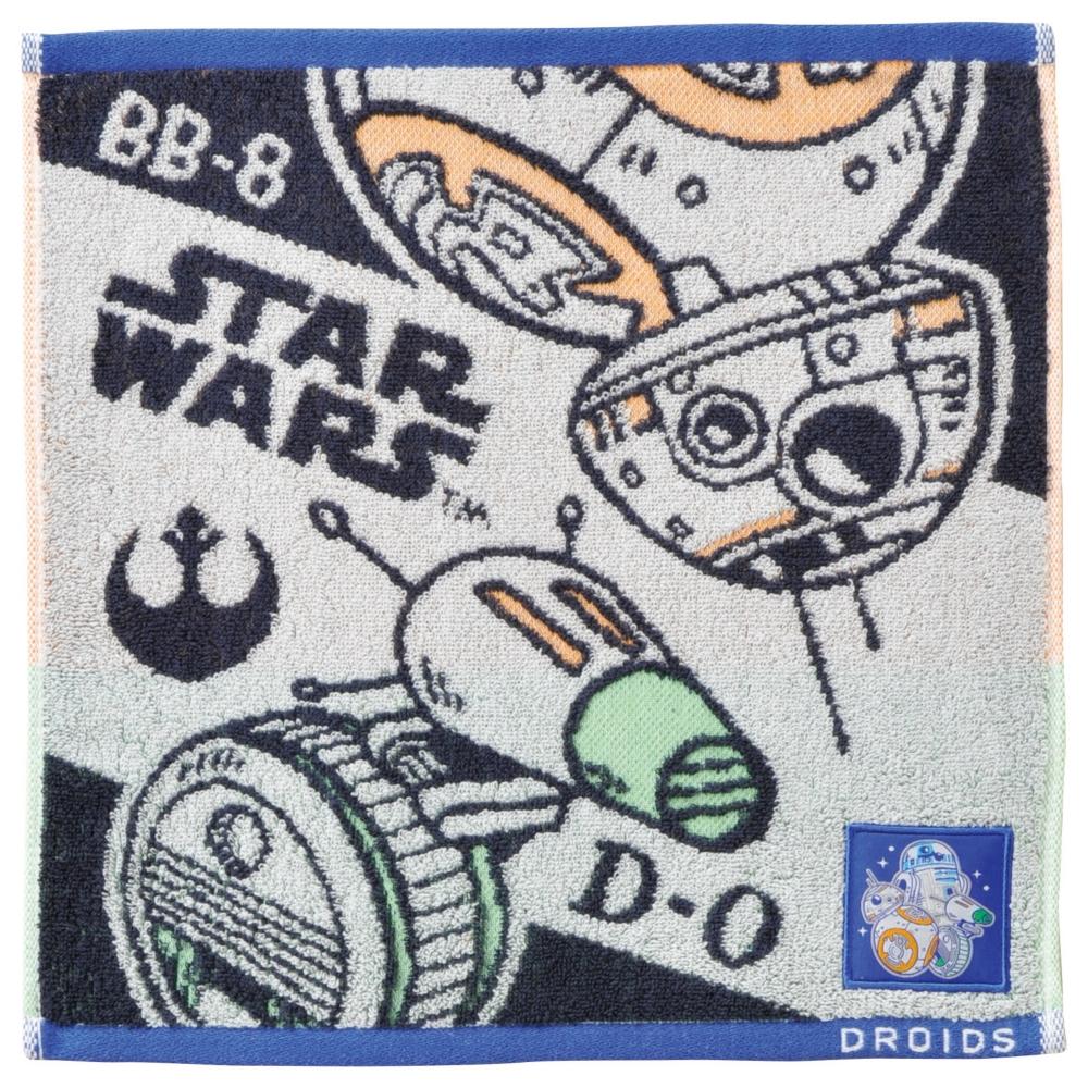 スター・ウォーズ BB-8&D-O ゲストタオル ドロイドスタイル