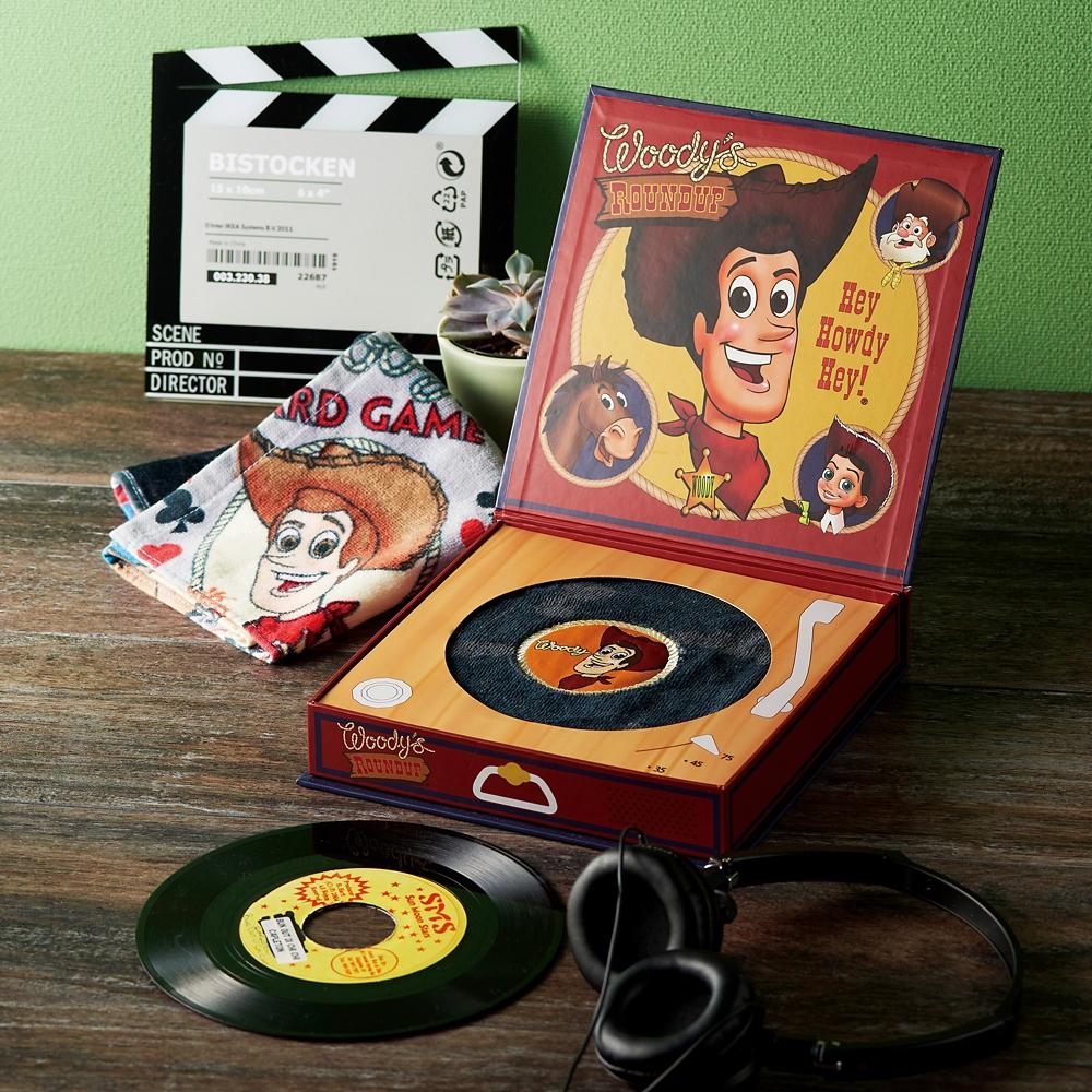 トイ・ストーリー ウッディ タオルギフト ウォッシュタオル 1枚セット レコードボックス