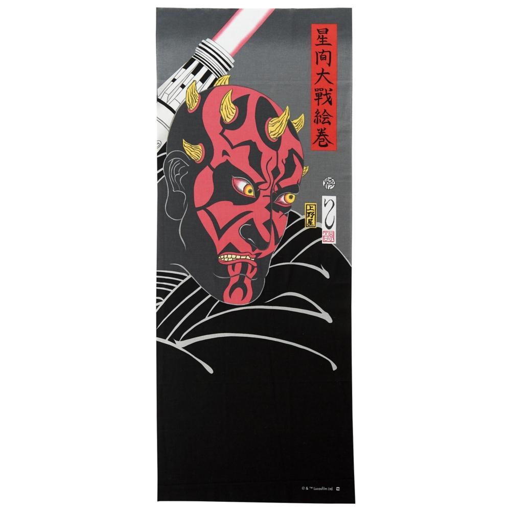 スター・ウォーズ ダース・モール 手ぬぐい 浮世絵風/ダース・モール