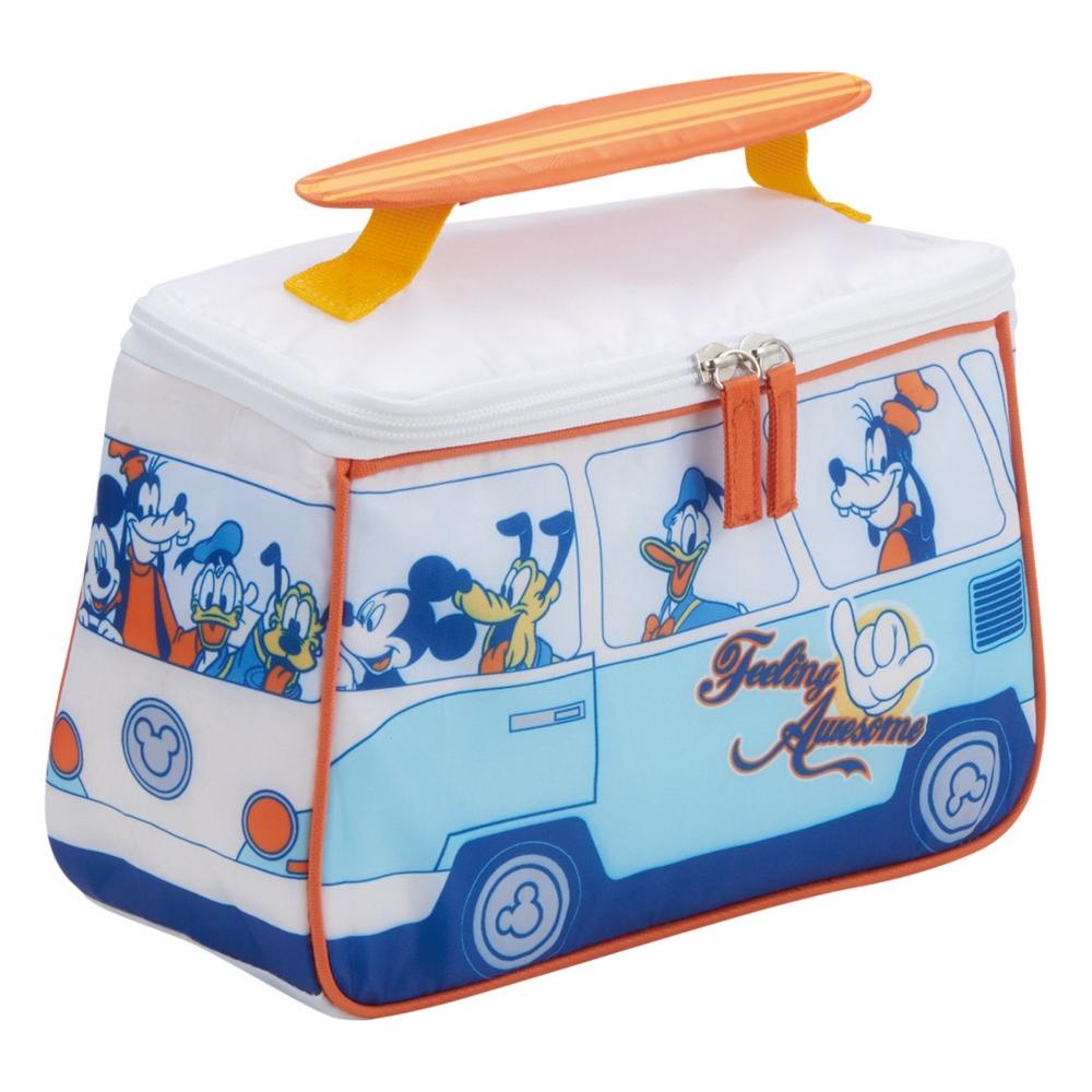 ミッキー&フレンズ 保冷バッグ サーファーバス