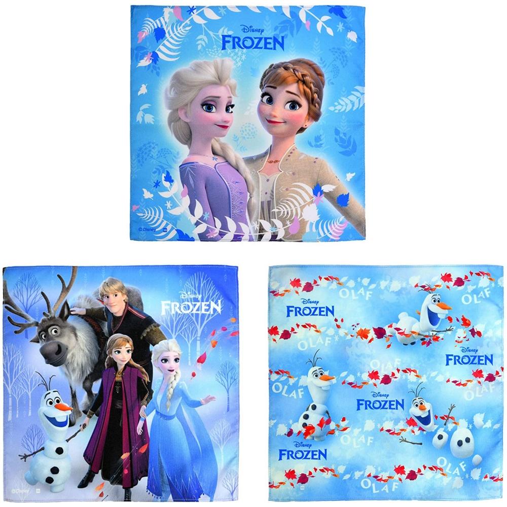 アナと雪の女王2 ハンカチーフ3枚組 スノーパーティー