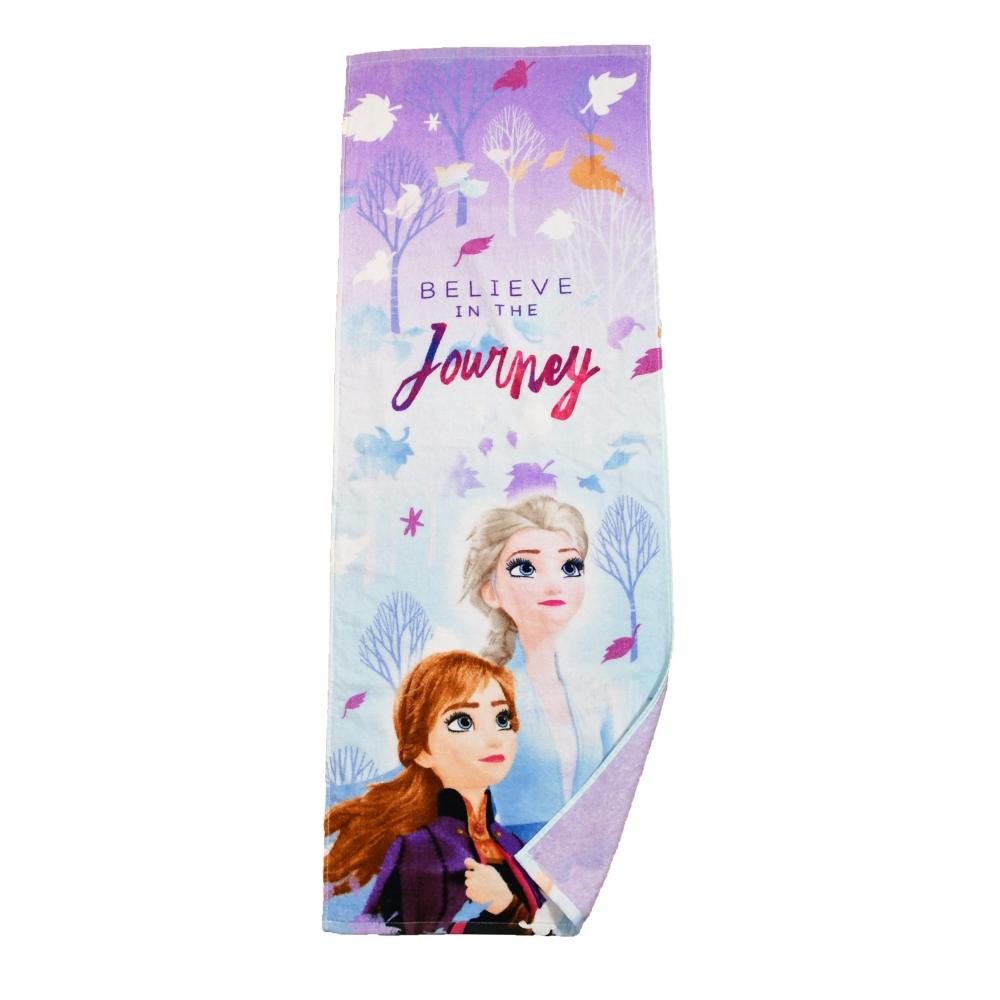 アナと雪の女王 2 ジュニアバスタオル スノービリーブ