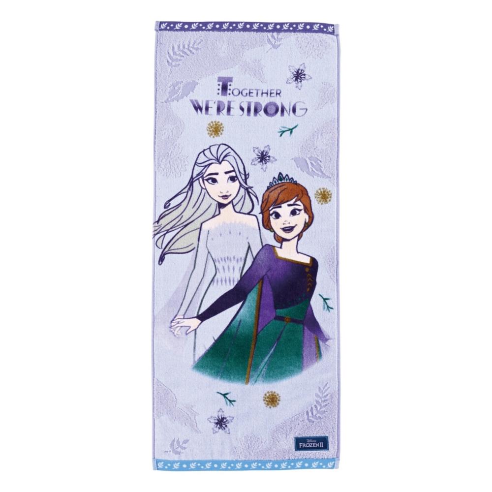 アナと雪の女王 フェイスタオル クリアリーフ