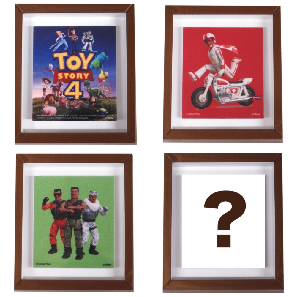 Pixar Collection/フレームマグネット/トイ・ストーリー4/1個