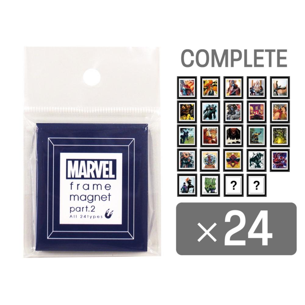 MARVEL COLLECTION/フレームマグネット2 24種コンプリートセット