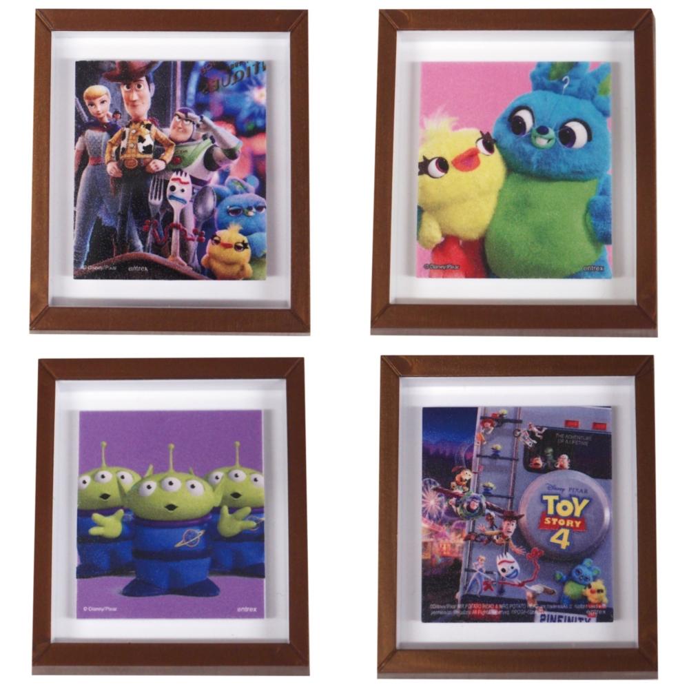 Pixar Collection/フレームマグネット トイストーリー4 12種コンプリートセット