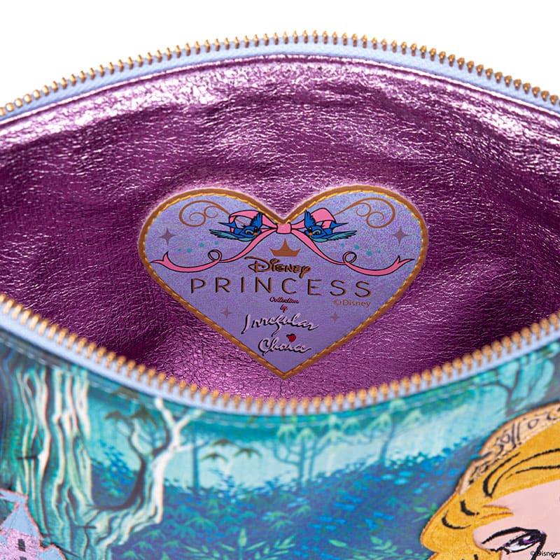 【Irregular Choice】オーロラ姫、マレフィセント ポーチ フラット Princess Of Beauty