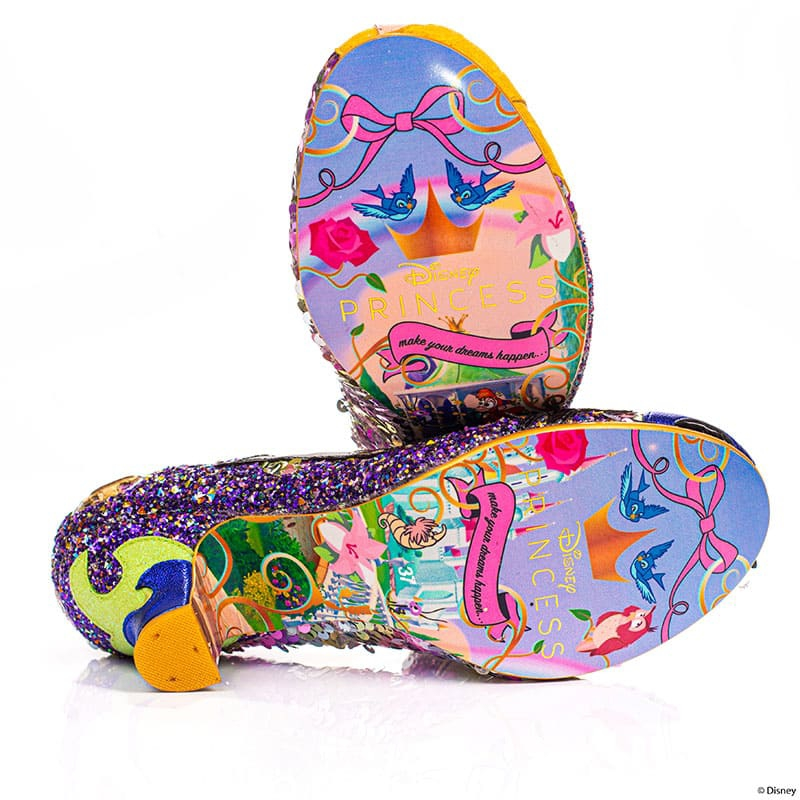 【Irregular Choice】オーロラ姫、マレフィセント レディース用シューズ(23.5) Touch The Spindle