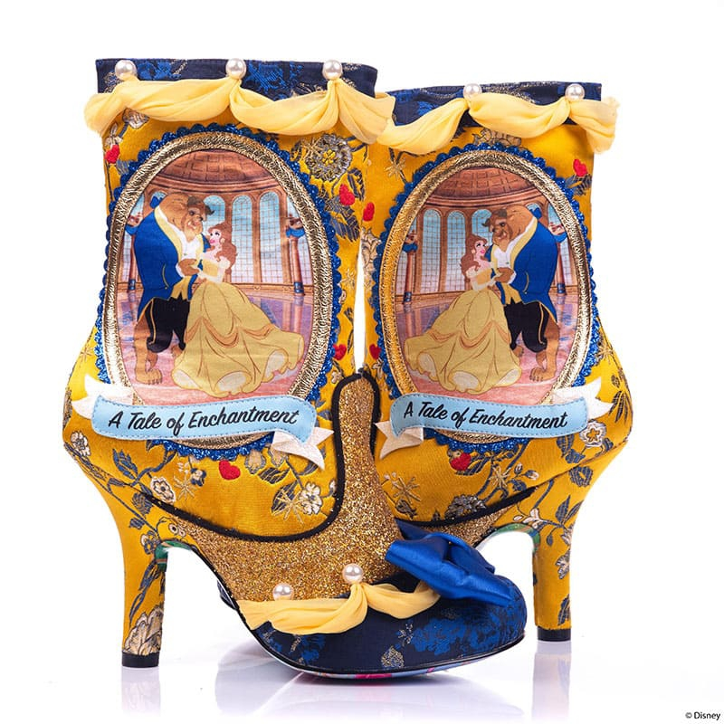 【Irregular Choice】ベル&野獣 レディース用ブーツ(23.5) A Tale of Enchantment