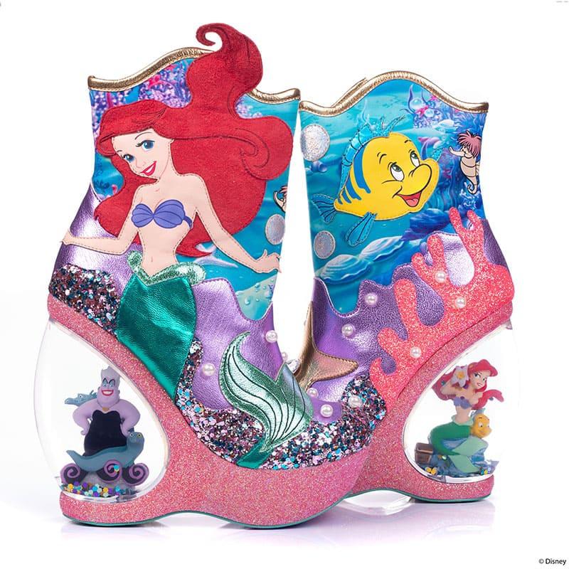 【Irregular Choice】リトル・マーメイド レディース用ブーツ(23) Just Me and the Sea