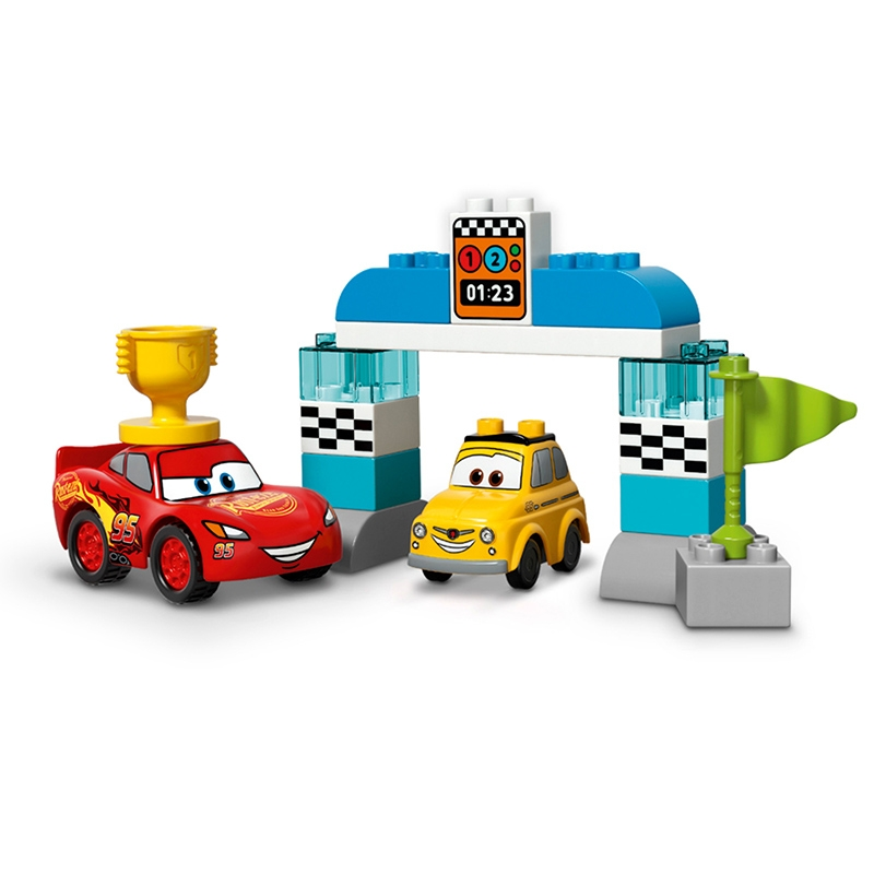【LEGO】 ピストンカップレース カーズ/クロスロード レゴ デュプロ