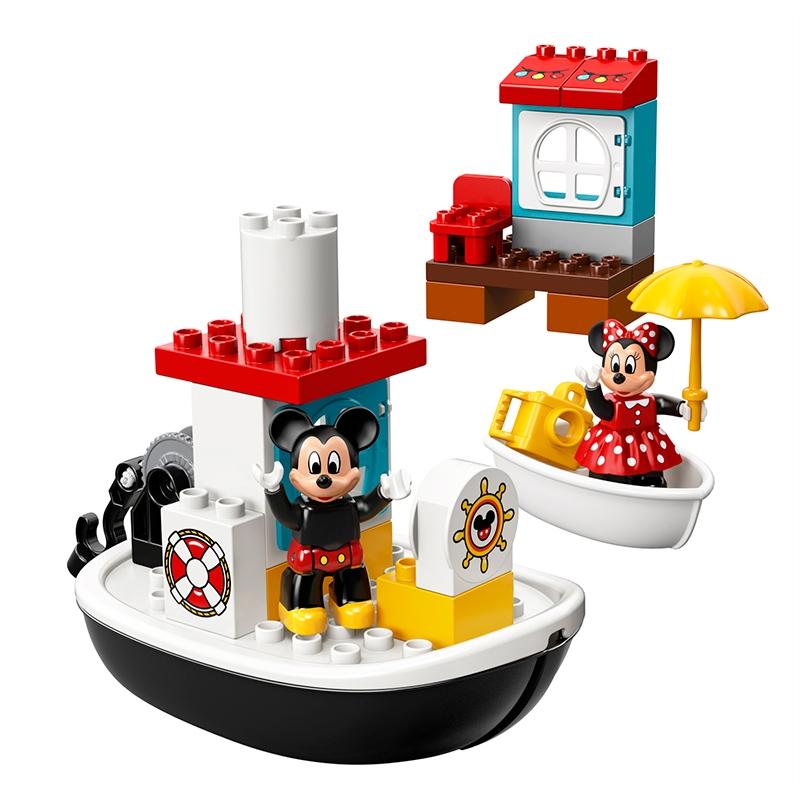 【LEGO】 ミッキーとミニーのバースデーボート レゴ デュプロ