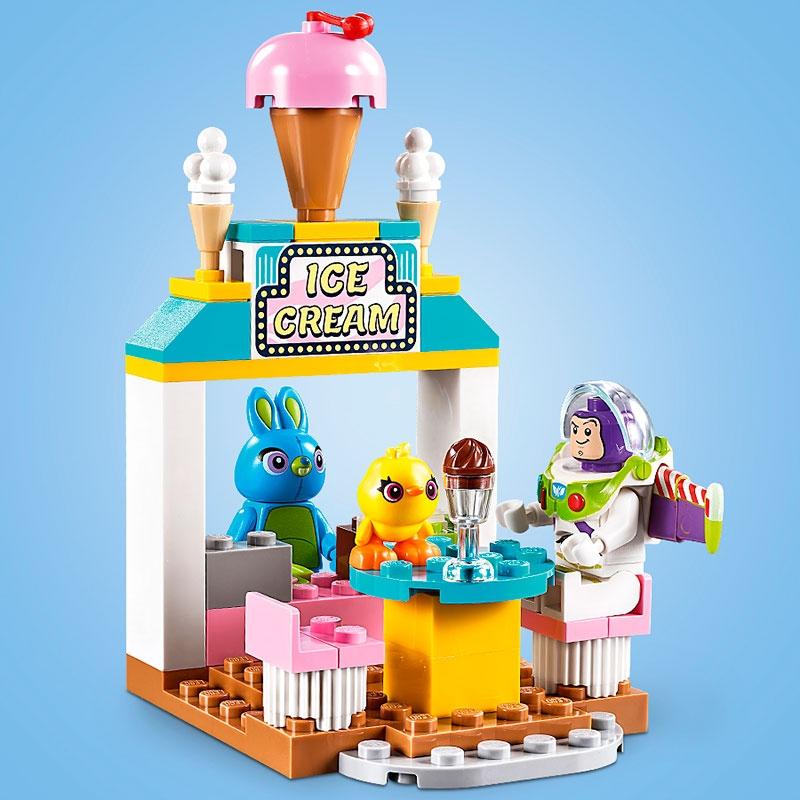 【LEGO】バズ&ウッディのカーニバルマニア トイ・ストーリー4