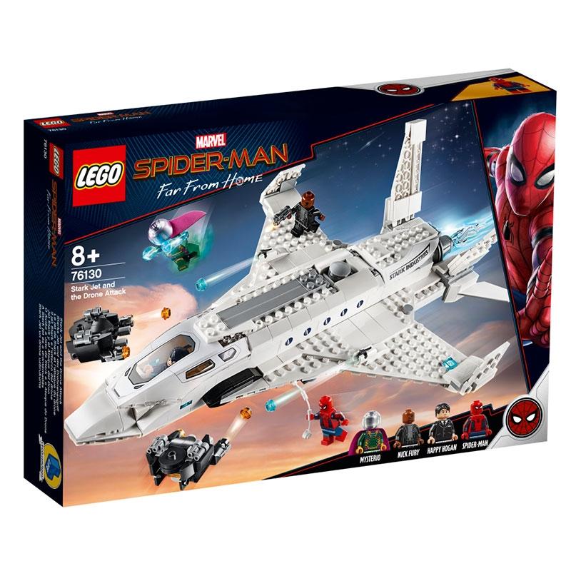 【LEGO】マーベル スパイダーマン/ファー・フロム・ホーム スターク・ジェットとドローン攻撃