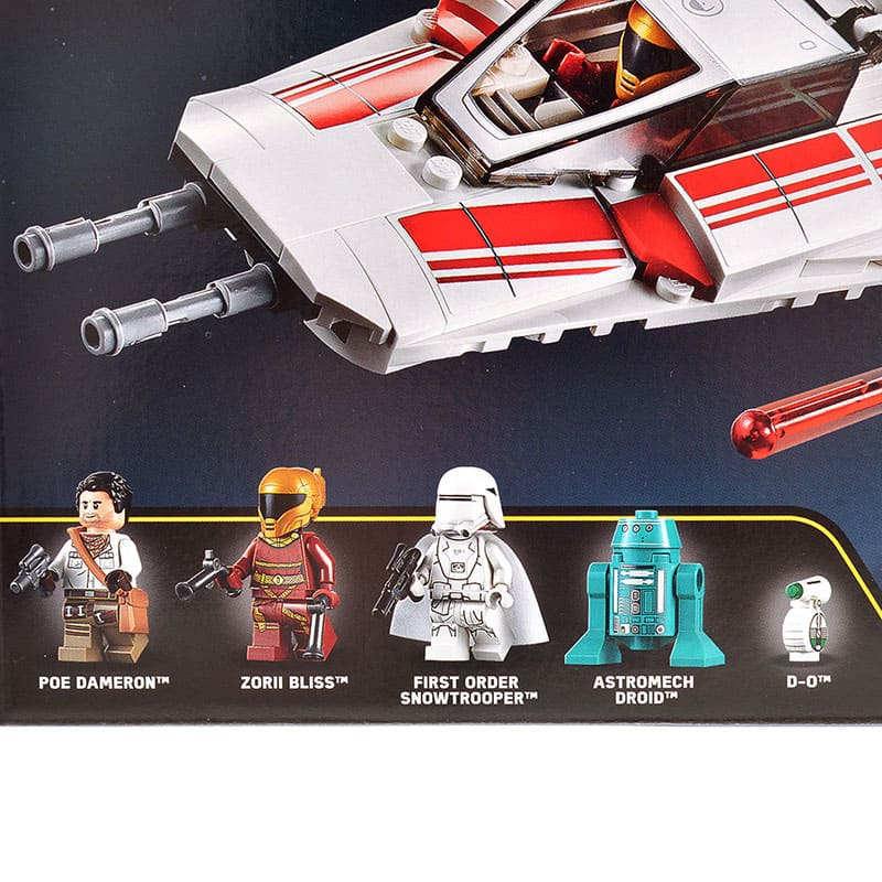 【LEGO】レジスタンス Yウィング・スターファイター スター・ウォーズ/スカイウォーカーの夜明け