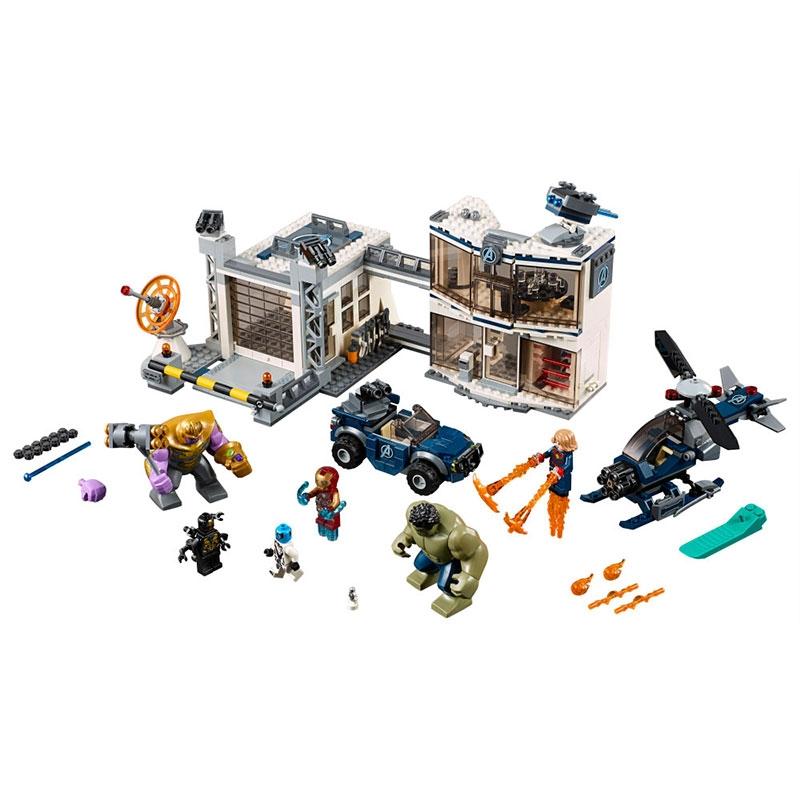 【LEGO】マーベル アベンジャーズ コンパウンドでの戦い