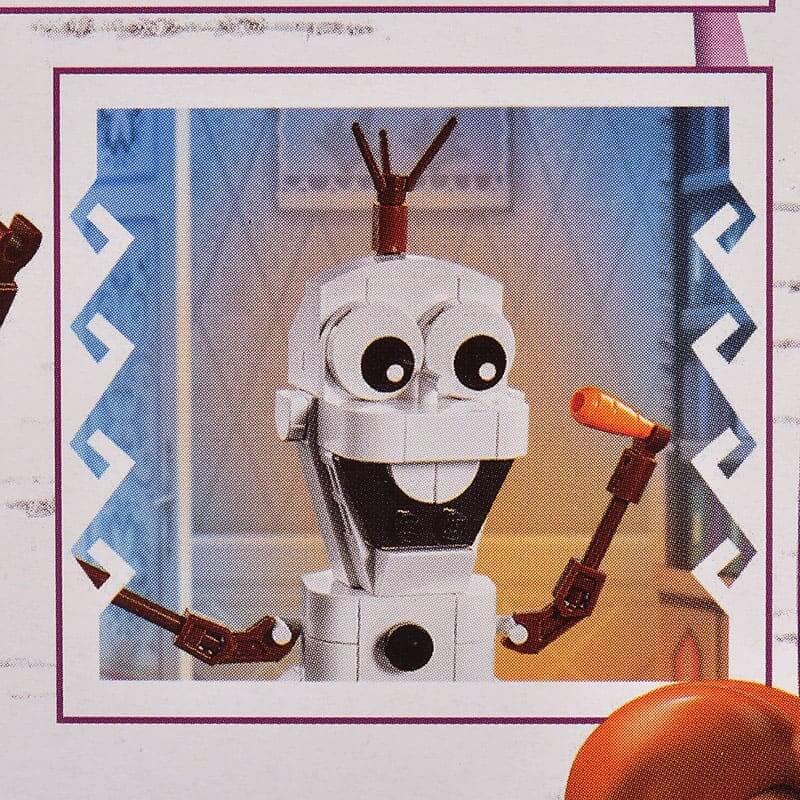 【LEGO】オラフ アナと雪の女王2