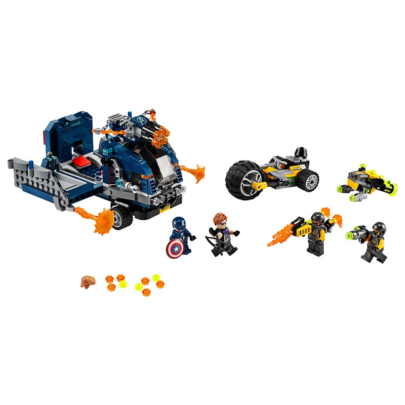 【LEGO】マーベル アベンジャーズ バトル・トラック