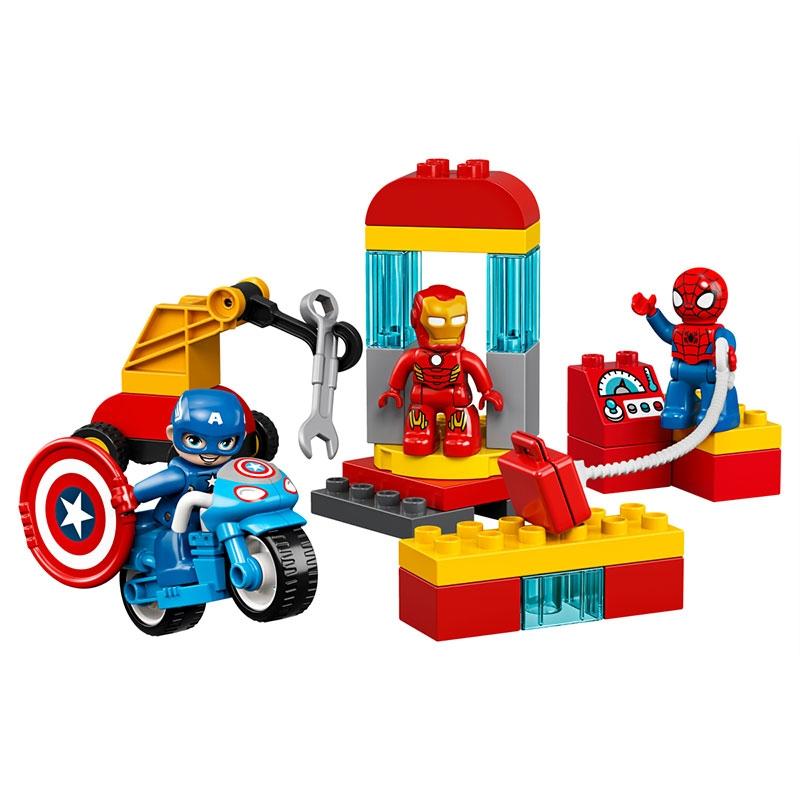 【LEGO】マーベル スーパーヒーローたちの研究所 レゴ デュプロ