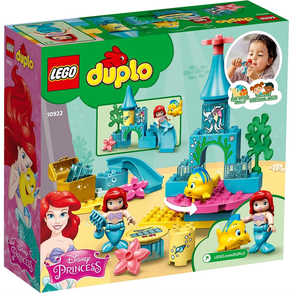 【LEGO】アリエル&フランダー 海のお城 リトル・マーメイド レゴ デュプロ