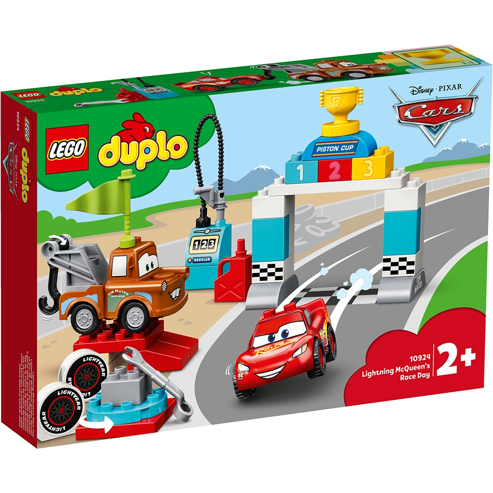 【LEGO】ライトニング・マックィーン レースの日 カーズ レゴ デュプロ