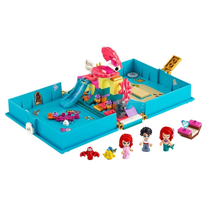 【LEGO】アリエル プリンセスブック リトル・マーメイド