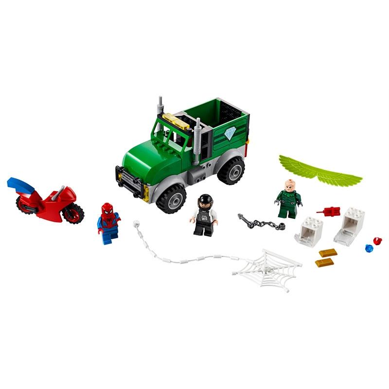 【LEGO】マーベル スパイダーマン スパイダーマン vs. ヴァルチャーのトラック強盗Q