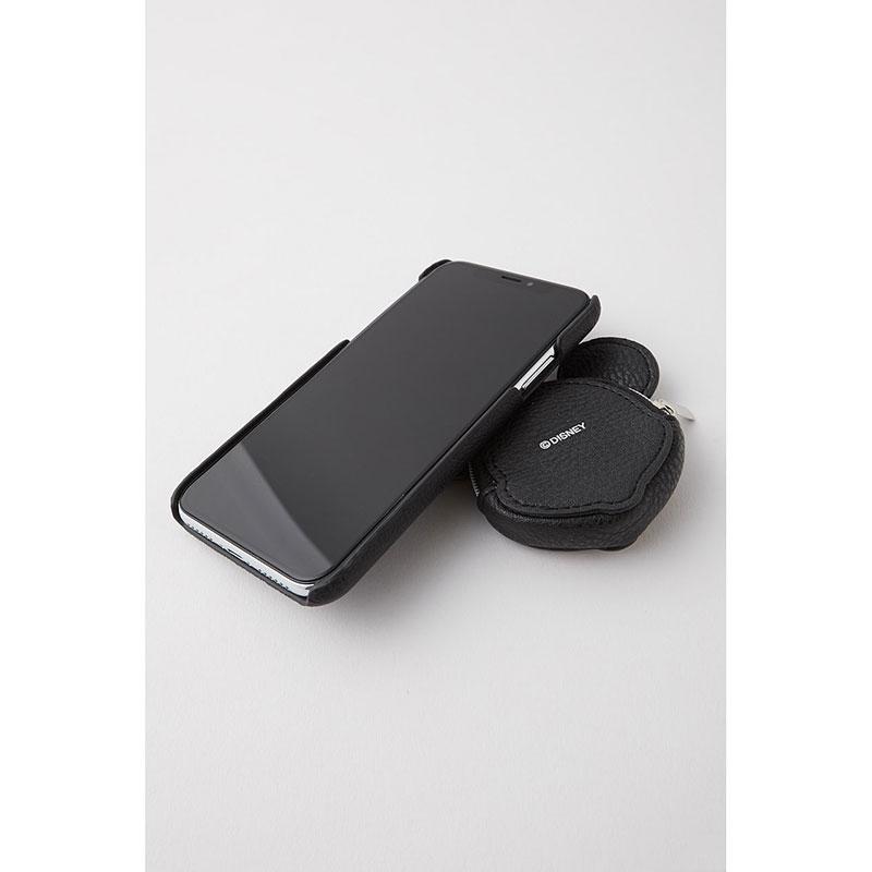 【MOUSSY】ミッキー iPhone X/XS用スマホケース・カバー ブラック