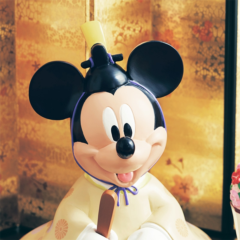 【ひなまつり】親王飾り ミッキー&ミニー