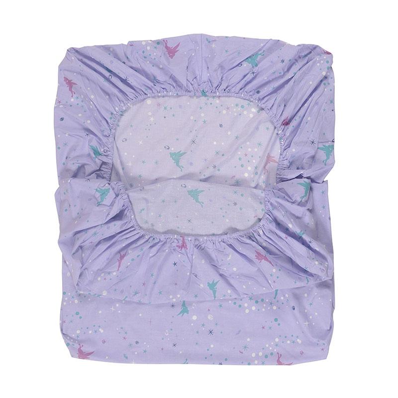ティンカー・ベル 綿混素材の布団カバー3点セット 洋式シングル