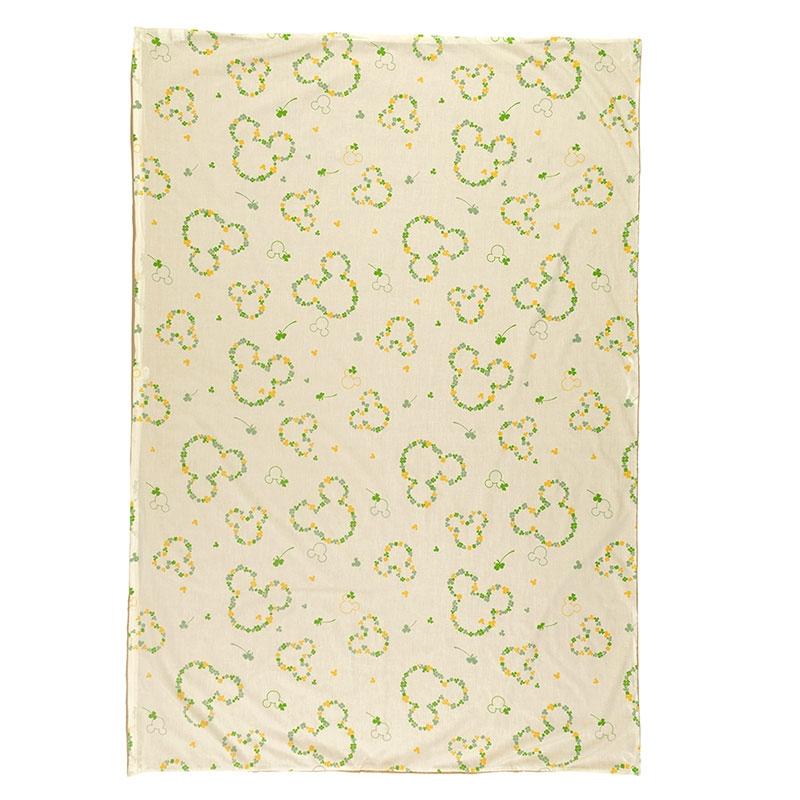 ミッキー 綿混素材の布団カバー3点セット 洋式シングル ベージュ