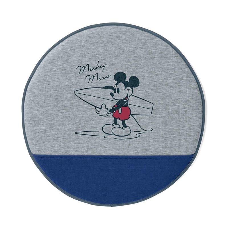ハンドルカバーにもなるスウェット風撥水シェードクッション ミッキーマウス