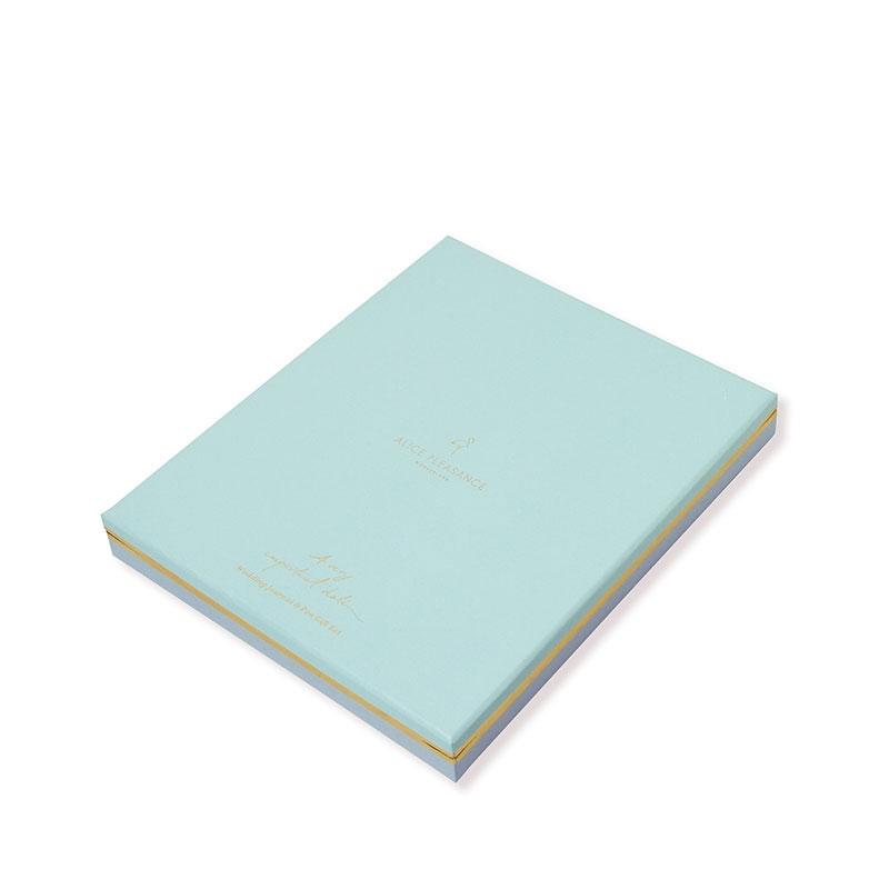 【Alice Pleasance】 ウェディング・ジャーナル ギフトボックスセット Misty Blue