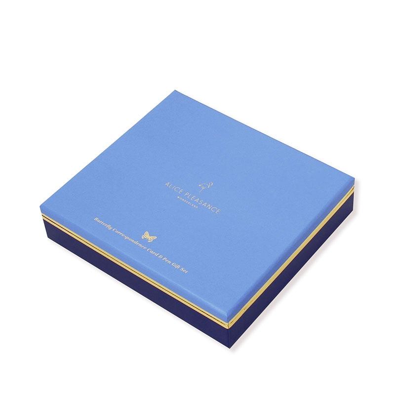 【Alice Pleasance】 コレスポンデンスカード ギフトボックスセット Cornflower Blue