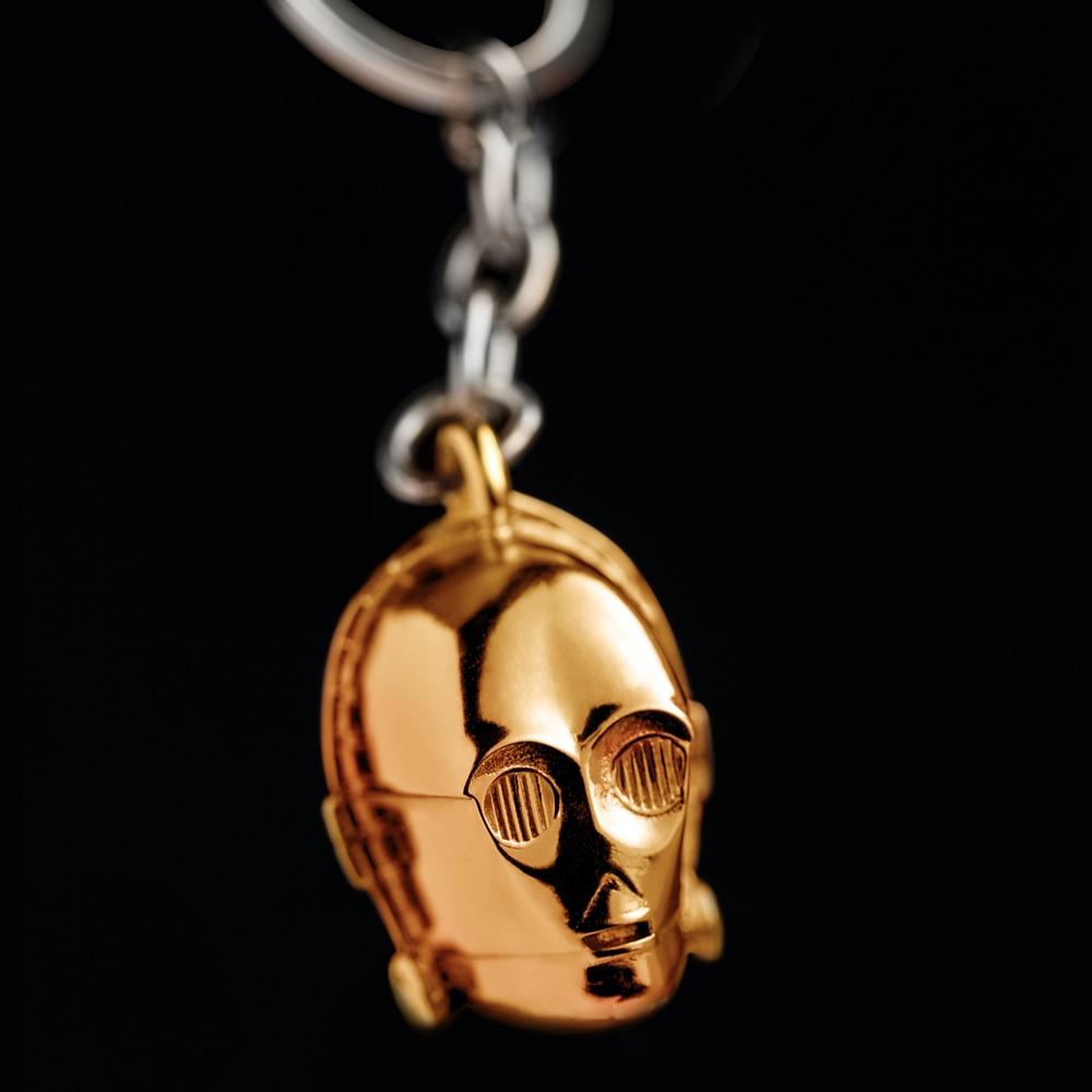 キーチェーン 3D C-3PO