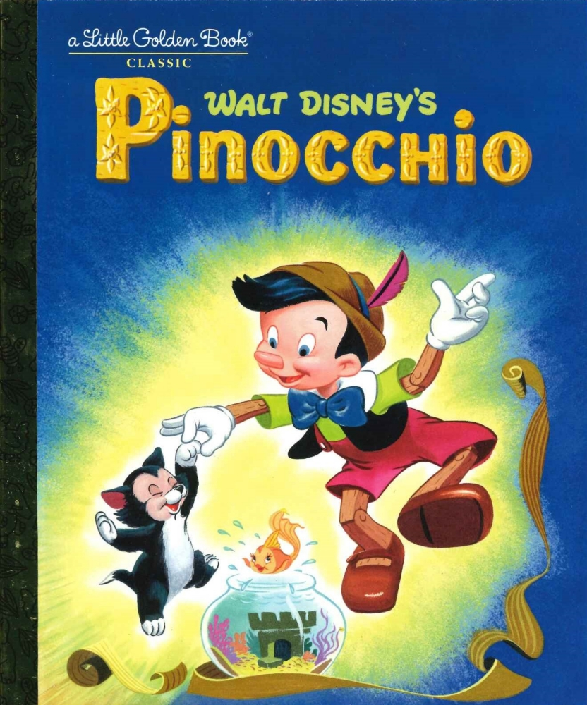 「ピノキオ」英語版絵本