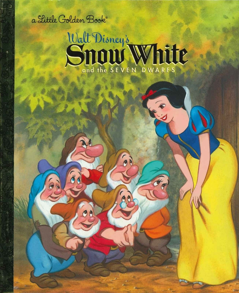 「白雪姫」英語版絵本