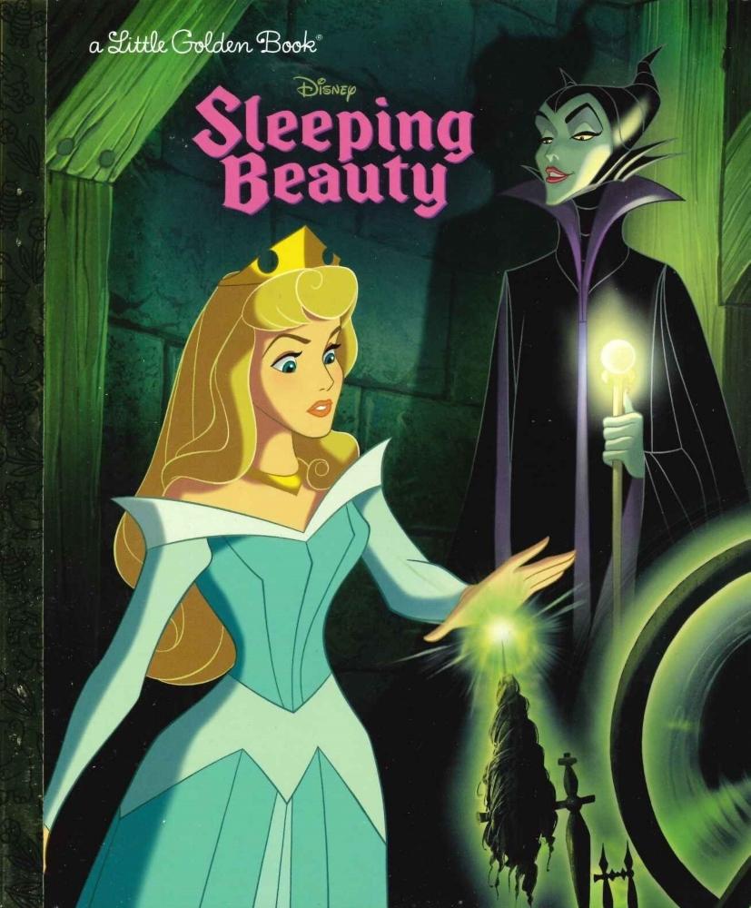 「眠れる森の美女」英語版絵本