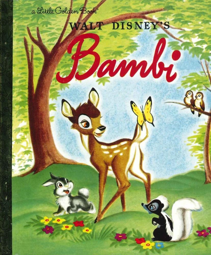 「バンビ」英語版絵本