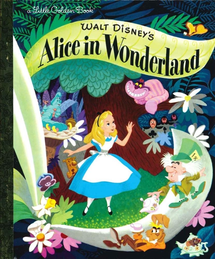 「不思議の国のアリス」英語版絵本