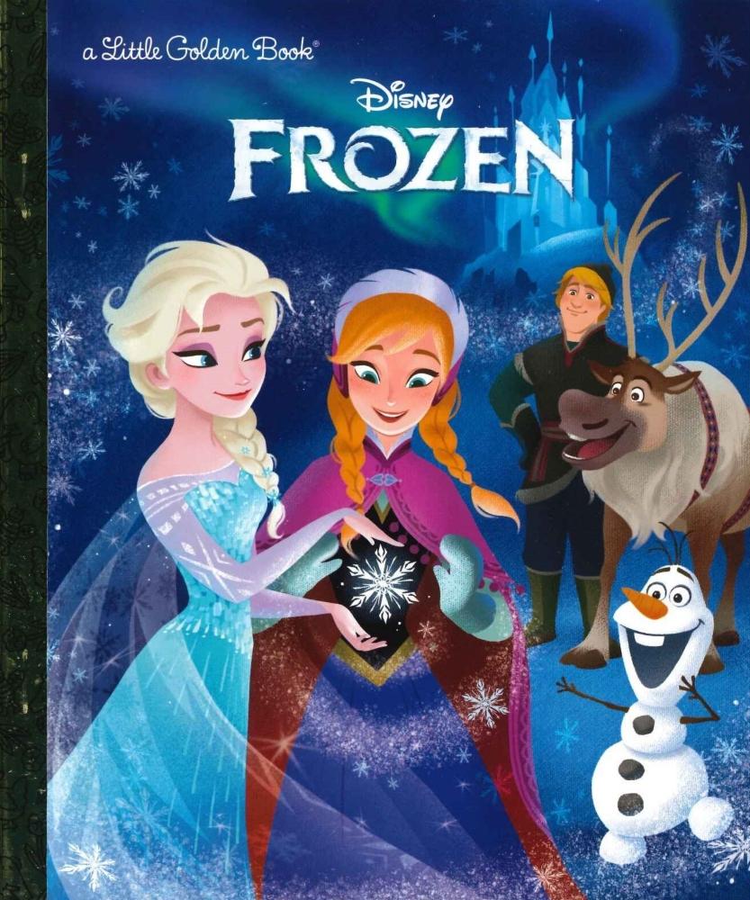 「アナと雪の女王」英語版絵本