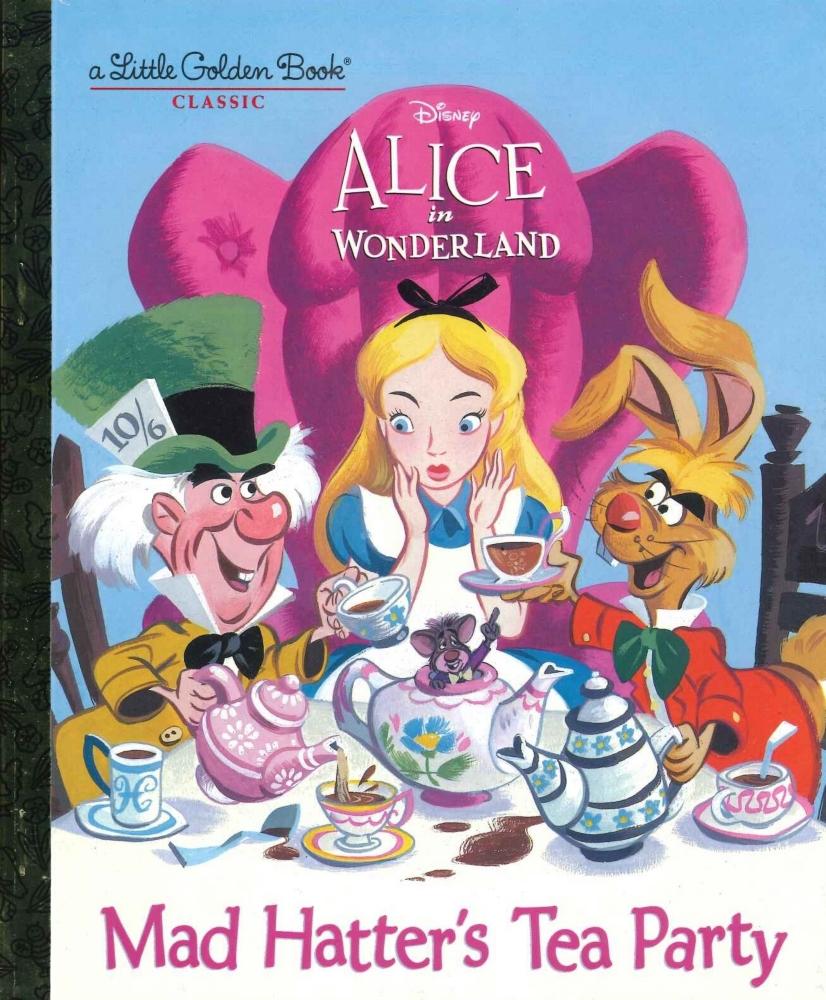 「アリスとマッドハッターのティパーティ」英語絵本