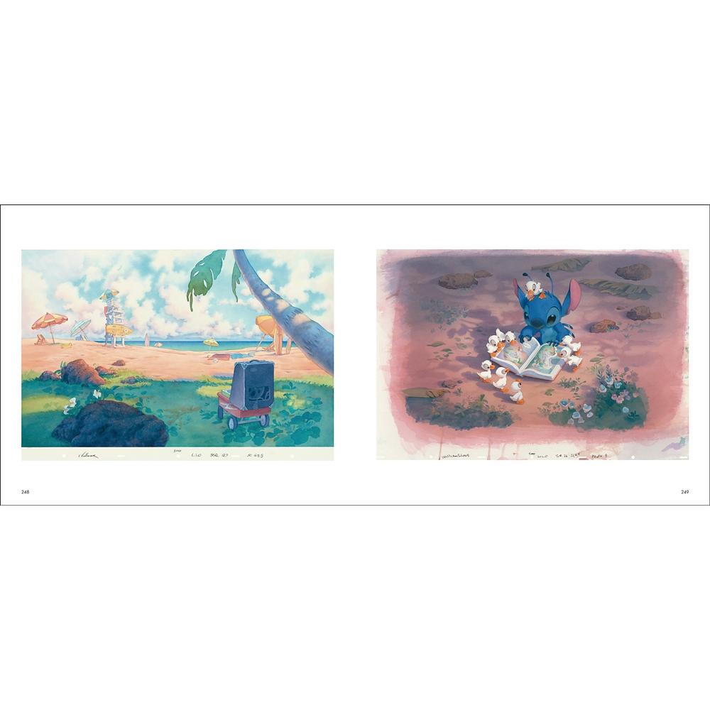 ディズニーアニメーション背景美術集